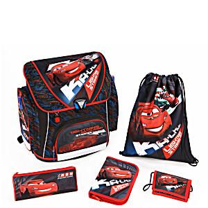 Школьный рюкзак Scooli Disney Cars Тачки CA13825 с наполнением