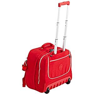 Рюкзак на колесах Kipling CLAS DALLIN цвет красный